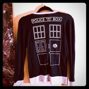 👠NEW ITEM👠GUC BBC Dr.Who cardigan w/Union Jack